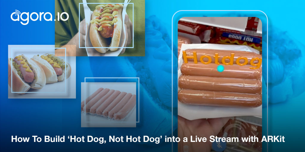 How To Build Hot Dog — Not Hot Dog into a Live Stream with ARKit Featured
