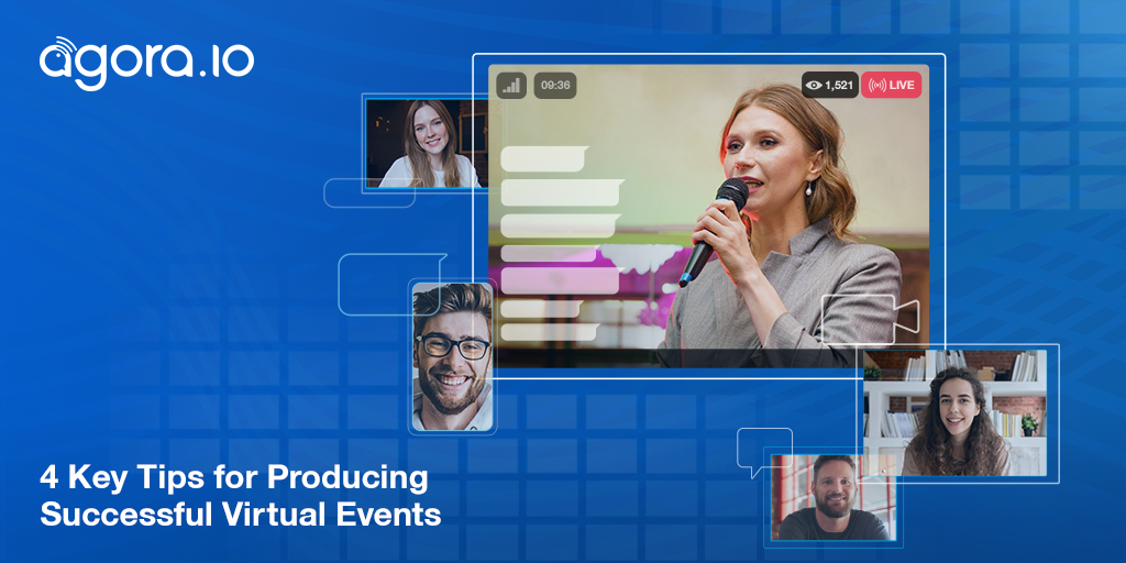 4 Key Tips for Producing Successful Virtual Events Featured
