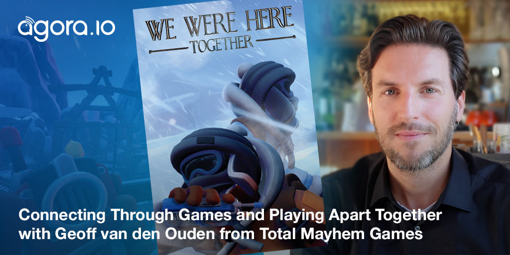 Connecting Through Games and Playing Apart Together with Geoff van den Ouden from Total Mayhem Games Featured