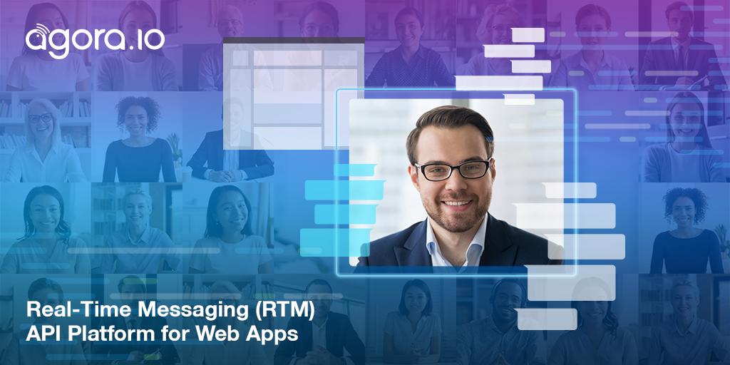 Real-Time Messaging (RTM) API Platform for Web Apps Featured