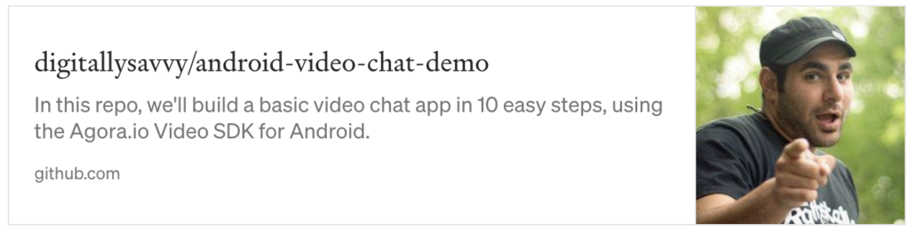 1-to-1 Video Chat App on Android - Screenshot #15