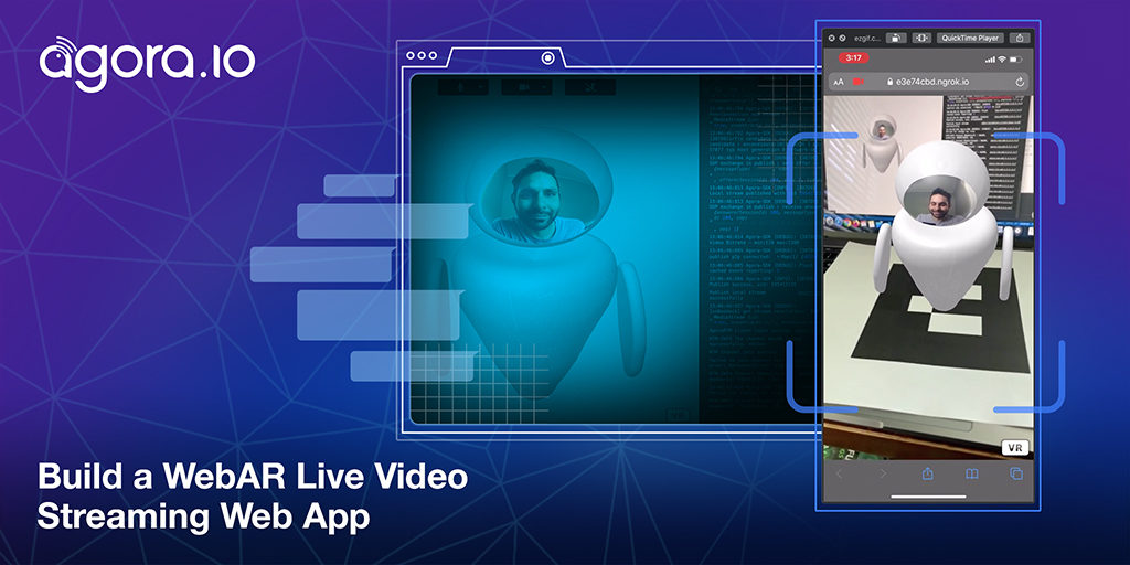 Build a WebAR Live Video Streaming Web App Featured