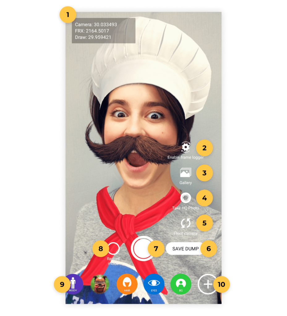 Build a Live Streaming Application with Face Filters on Android - Screenshot #1