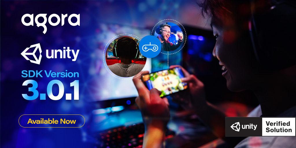 Agora Releases Unity SDK V3.0.1 Featured