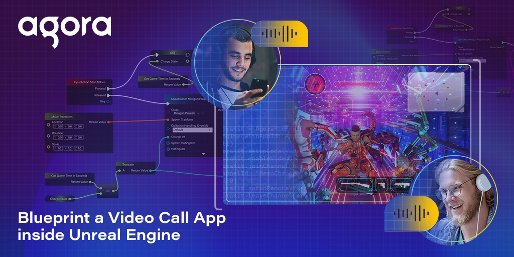 Blueprint a Video Call App Inside Unreal Engine Featured