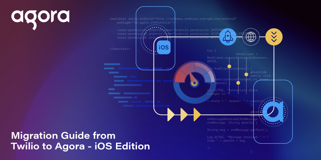 Migration Guide from Twilio to Agora: iOS Edition Featured