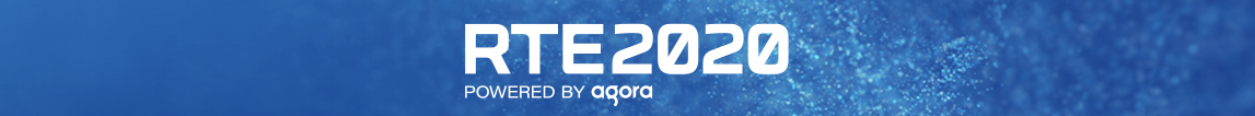 RTE2020 powered by Agora banner