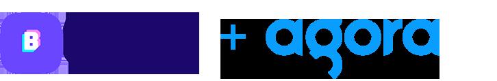 Bunch logo and Agora logo
