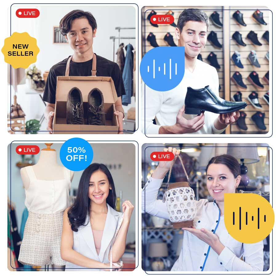 4 online retailers