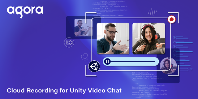Cloud Recording for Unity Video Chat Featured