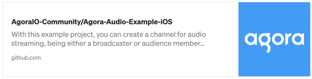 How to Build a Live Audio Streaming iOS App with Agora - Screenshot #6