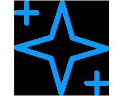 Icon of three stars