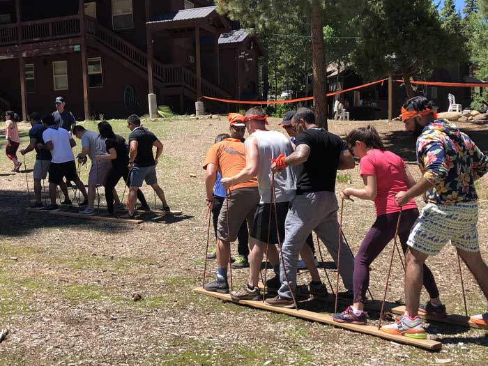 Agora team building activity