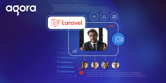 Build a Scalable Video Chat App with Agora in Laravel Featured
