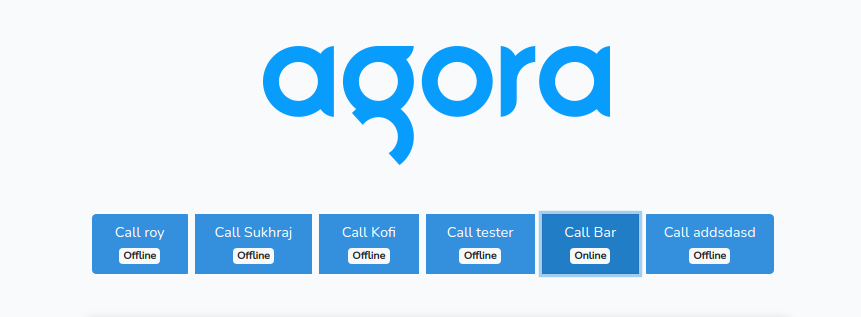 Build a Scalable Video Chat App with Agora in Laravel - Screenshot #1