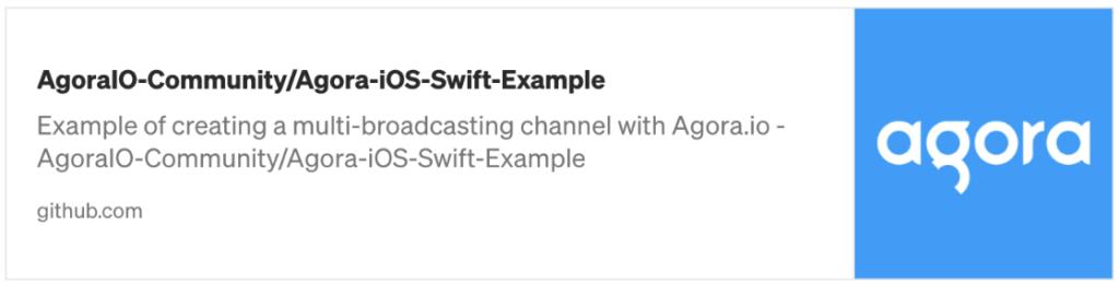 How to Build a Live Video Streaming iOS App with Agora - Screenshot #3
