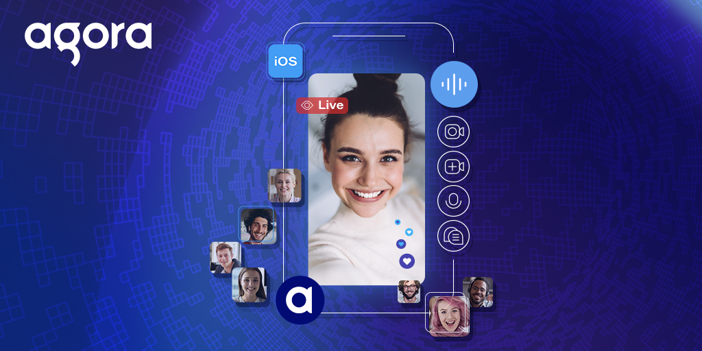 How to Build a Live Video Streaming iOS App with Agora Featured