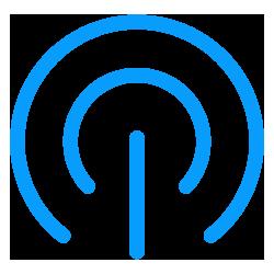 Live audio streaming icon