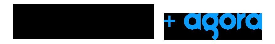 Run the World and Agora logo