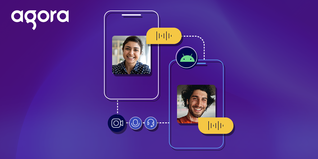 1-to-1 Video Chat App on Android using Agora Featured