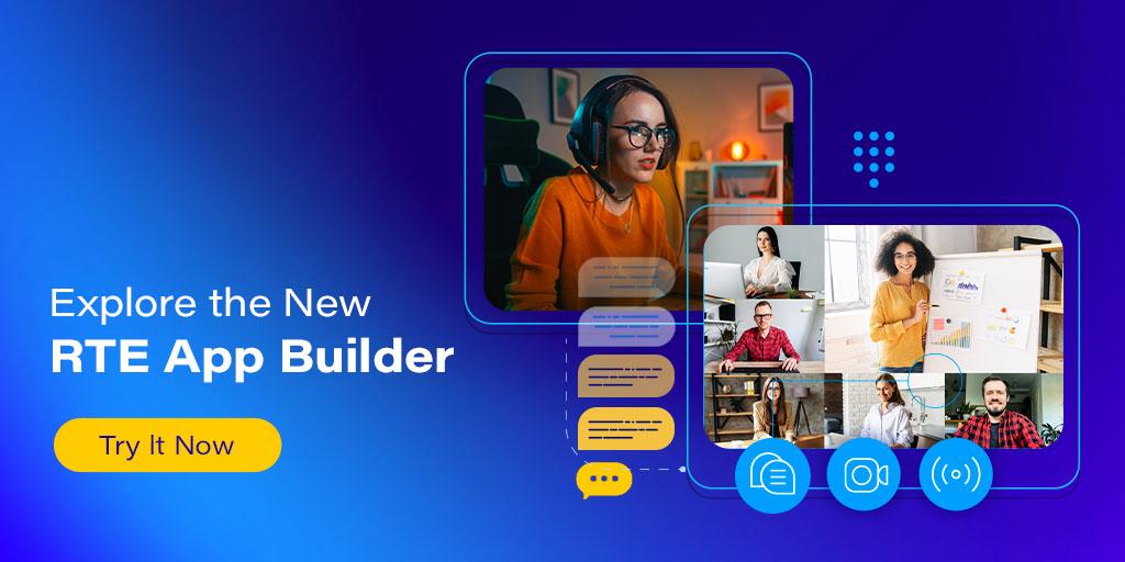 Agora RTE App Builder Featured
