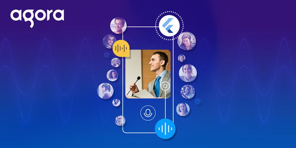 How to Build Your Own Audio Streaming Application Using Agoras flutter SDK - Featured