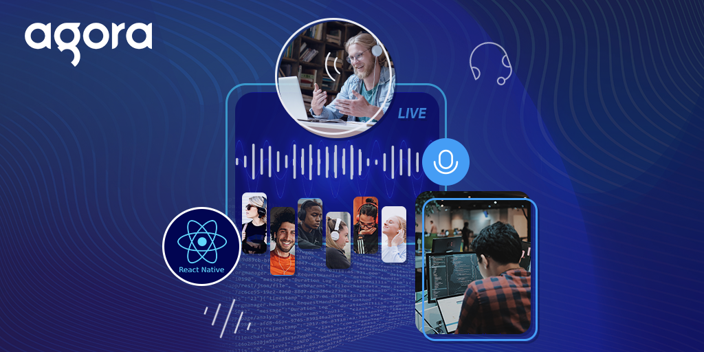Building a Live Audio Streaming React Native App with Agora Featured