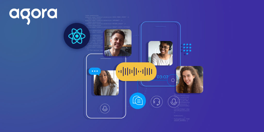 Dynamic Channels for Video Chat Using Agora RTM on React Native - Featured