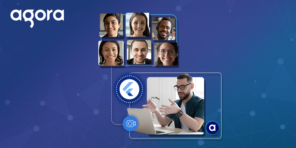 Group Video Calling Using the Agora Flutter SDK - Featured