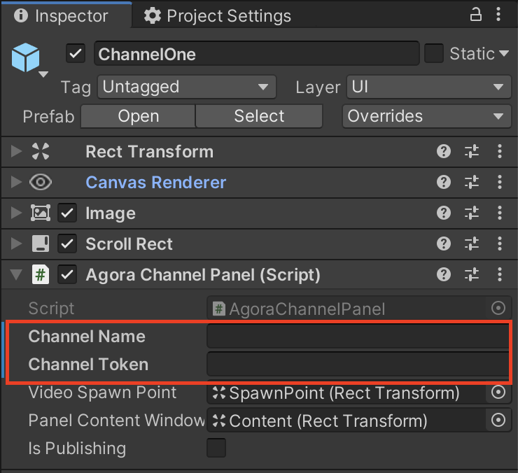 Joining a Multiple Agora Channels in Unity - Screenshot #10