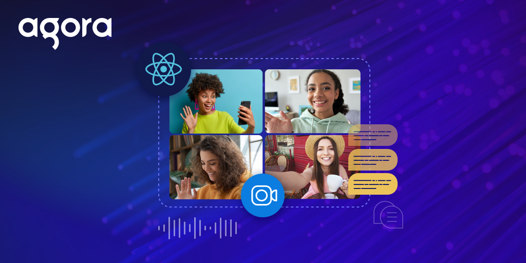 Building a Video Chat App Using React Hooks and Agora - Featured