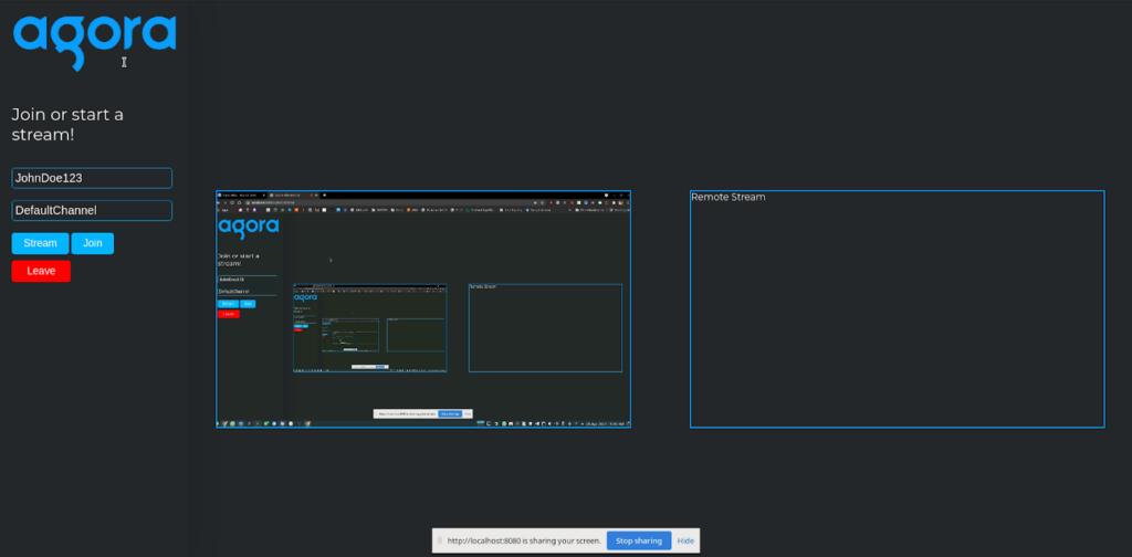 How to Combine Video Streams Using Agora Web SDK screenshot 2