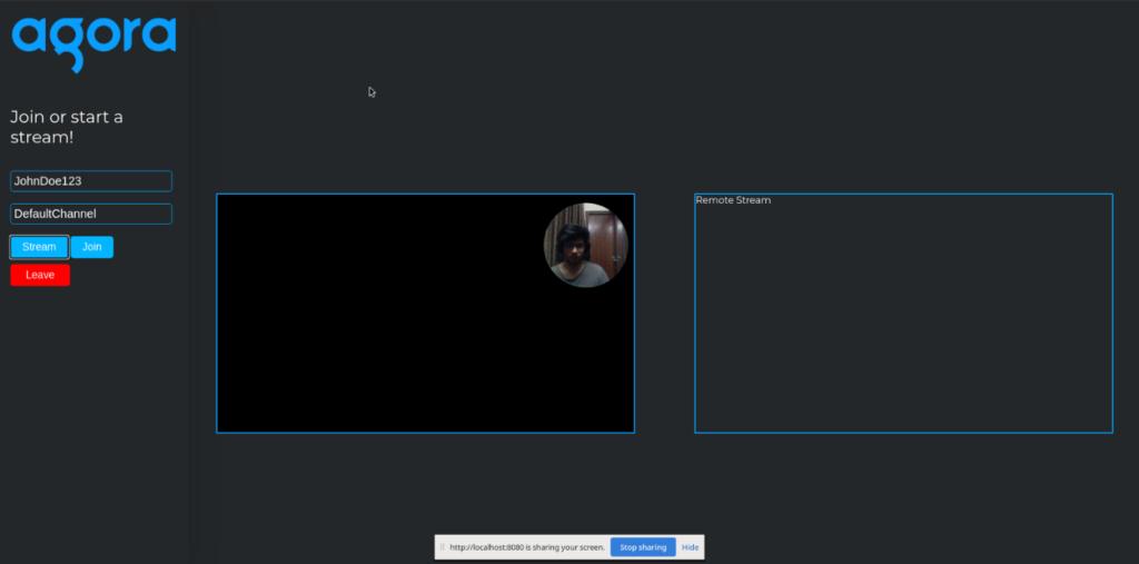 How to Combine Video Streams Using Agora Web SDK screenshot 3