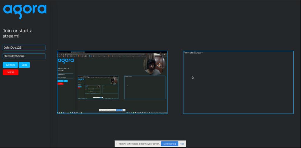 How to Combine Video Streams Using Agora Web SDK screenshot 4