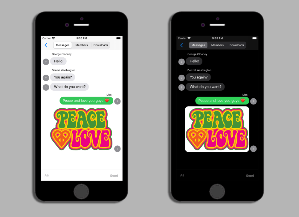 Advanced Real-time Messaging with Agora and MessageKit - Screenshot #4
