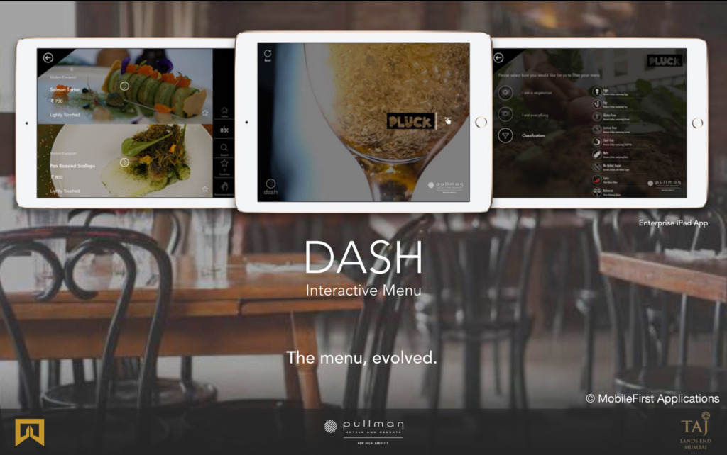 Dash Menu, an app that let's you experience your meal before you place your order.