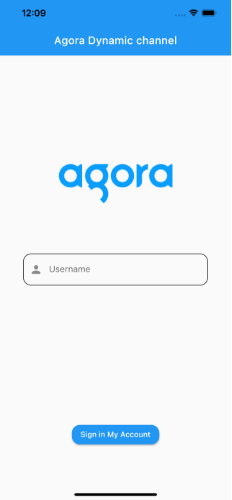 Real-Time Messaging and Video with Dynamic Channels Using the Agora Flutter SDK - Screenshot #2