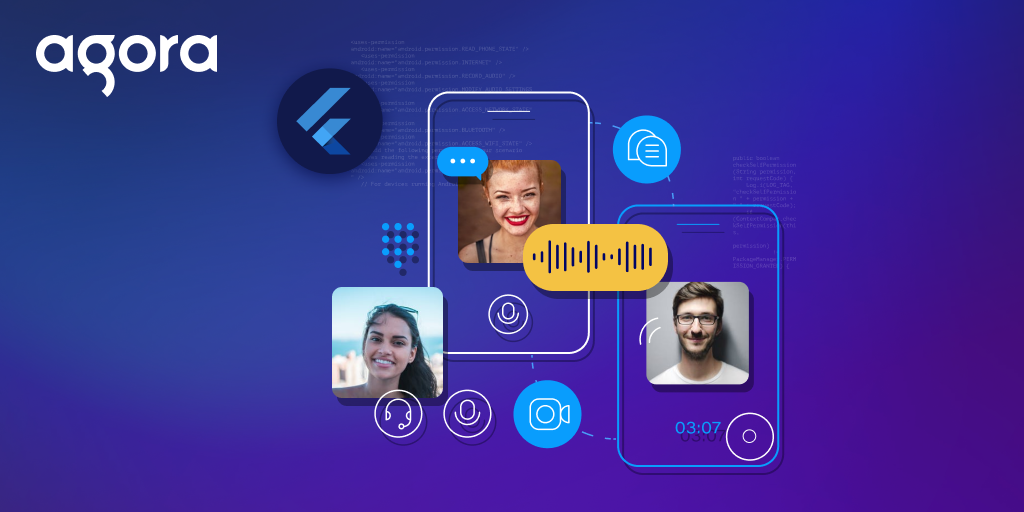 Real-Time Messaging and Video with Dynamic Channels Using the Agora Flutter SDK - Featured