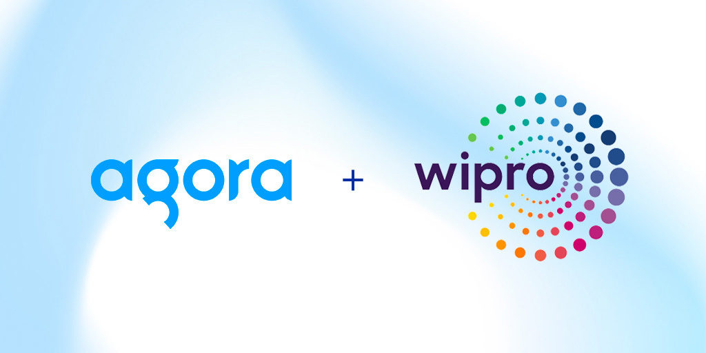 Agora and Wipro Announce Partnership featured