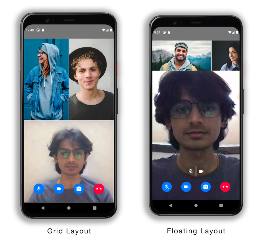 Creating a React Native Video Chat App in a few lines of Code using Agora UIKit screenshot 2