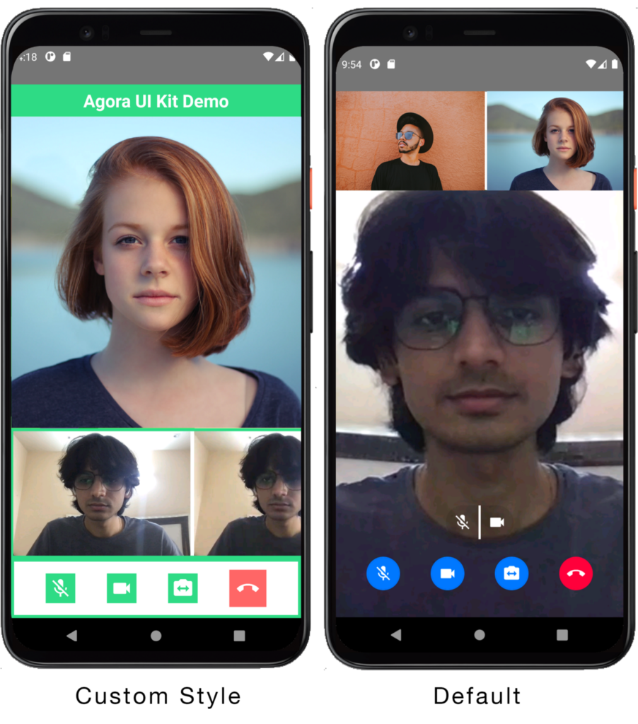 Creating a React Native Video Chat App in a few lines of Code using Agora UIKit screenshot 3