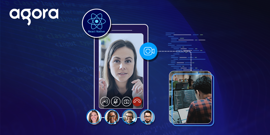Creating a React Native Video Chat App in a few lines of Code using Agora UIKit featured