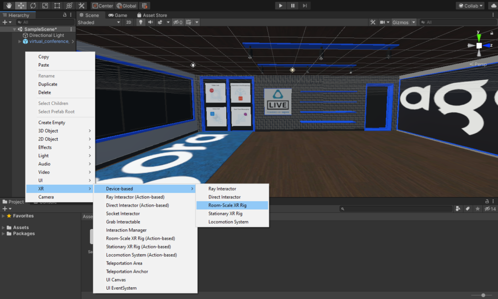 How to Build a VR Video Chat App Using Unity's XR Framework screenshot 14