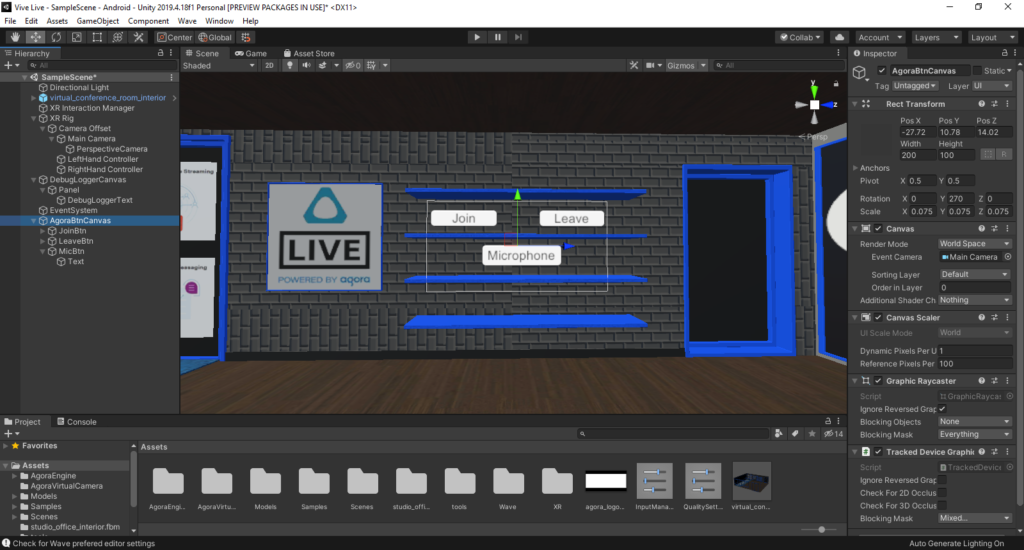 How to Build a VR Video Chat App Using Unity's XR Framework screenshot 21