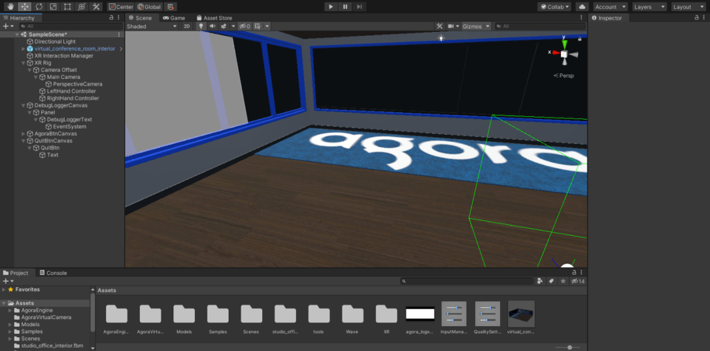 How to Build a VR Video Chat App Using Unity's XR Framework screenshot 22
