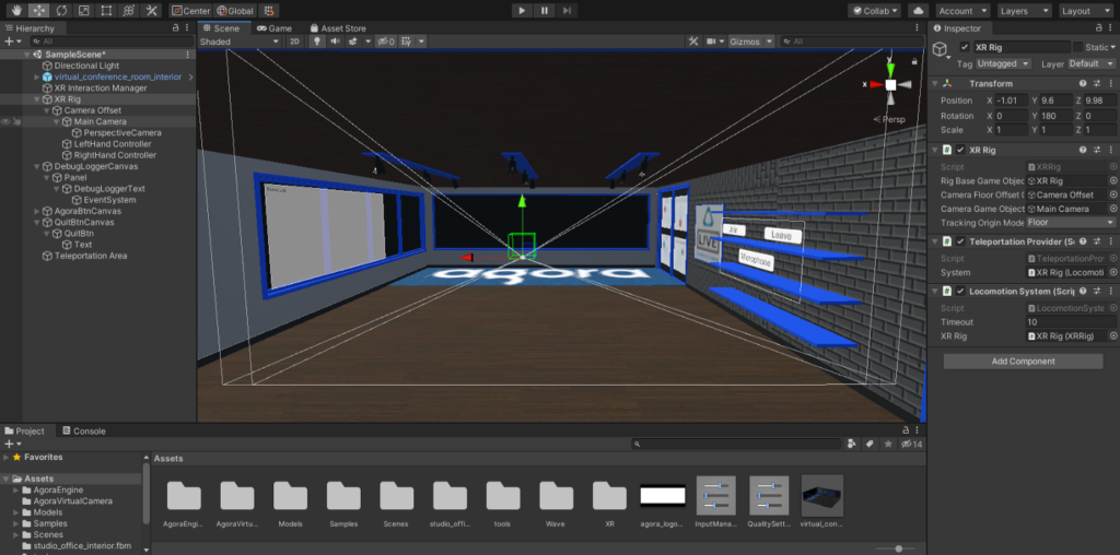 How to Build a VR Video Chat App Using Unity's XR Framework screenshot 23