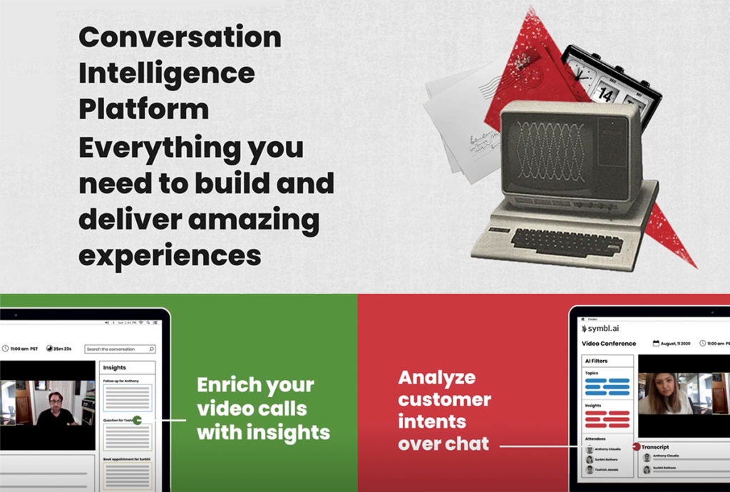 Conversation Intelligence for Developers. Enable your applications to truly understand natural human conversations across any channel, just by hitting a few endpoints.