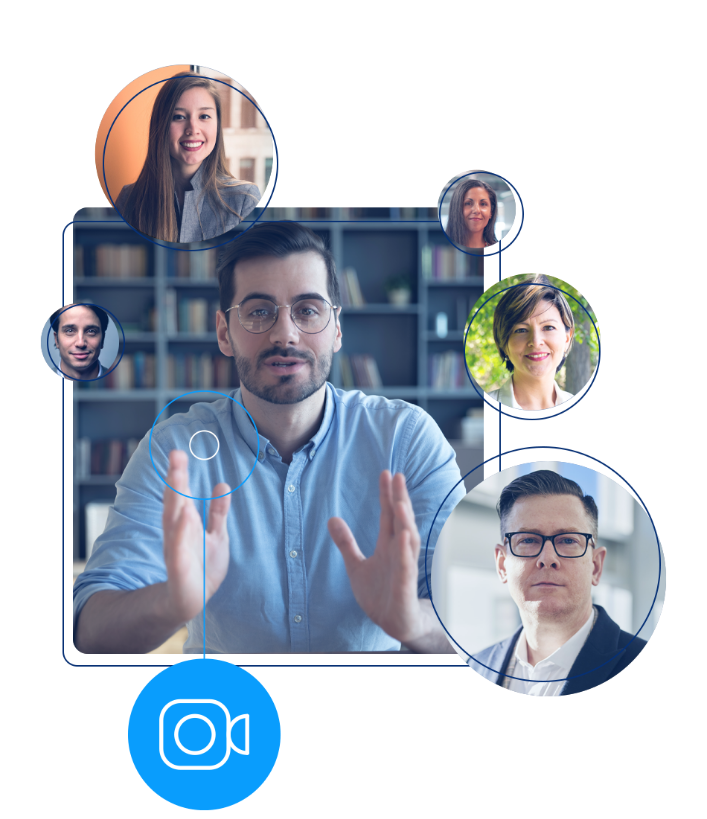 Quickly create a video meeting solution fully personalized for your organization's brand.