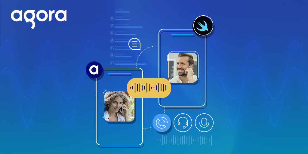 Voice Calls with SwiftUI and Agora - Featured Social