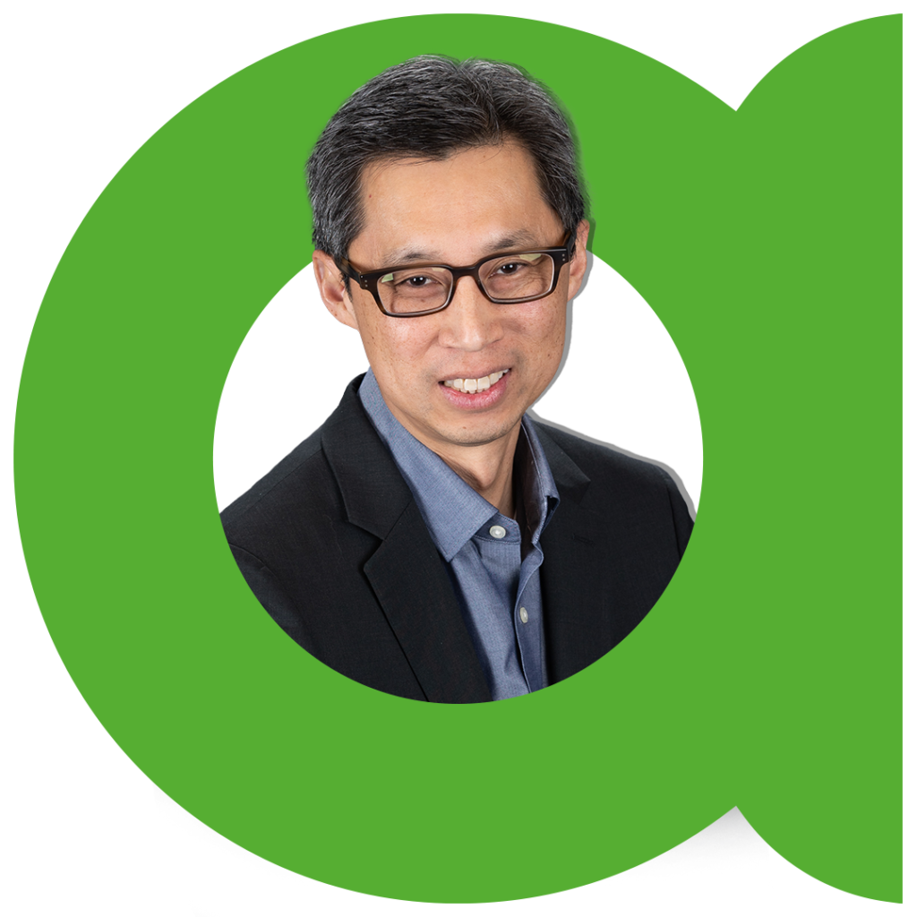 Headshot of Eric Chang, VP of Marketing at TVU Networks.